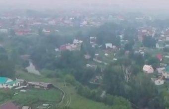 На Алтае местами сохраняется дымка, опасности по-прежнему нет