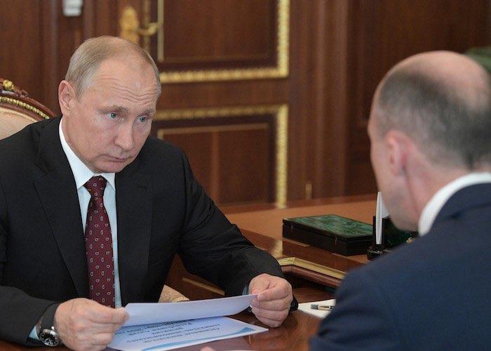 Президент Владимир Путин встретился с Олегом Хорохординым