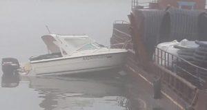 Катер врезался в баржу на Телецком озере, три человека получили тяжелые травмы