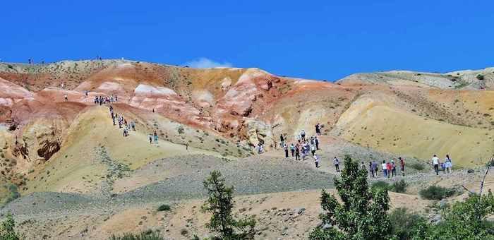 Фестиваль теленгитов «Тертпек» прошел на «алтайском Марсе»