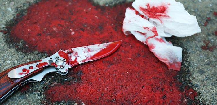Ревнивый горожанин ударил соперника ножом, встретив его со своей «бывшей»