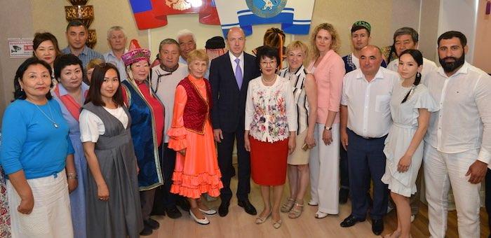 Олег Хорохордин встретился с представителями национально-культурных объединений