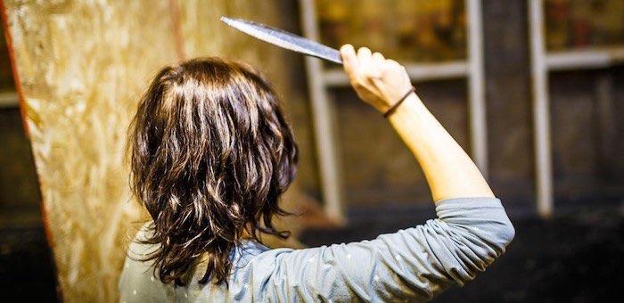 Домашняя террористка избивала мать и напала на знакомых с ножом и топором