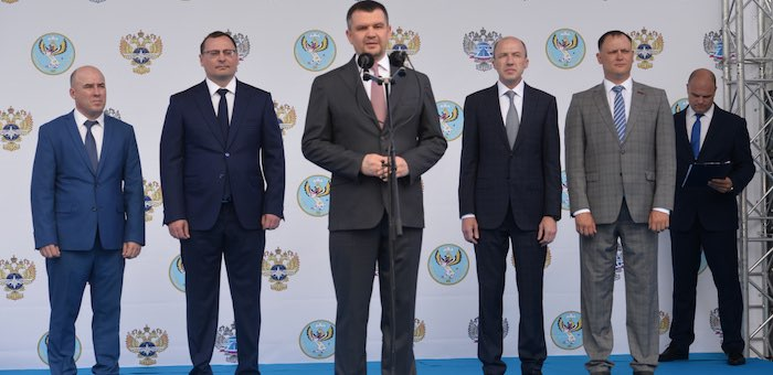 Максим Акимов и Олег Хорохордин открыли новый участок Чуйского тракта