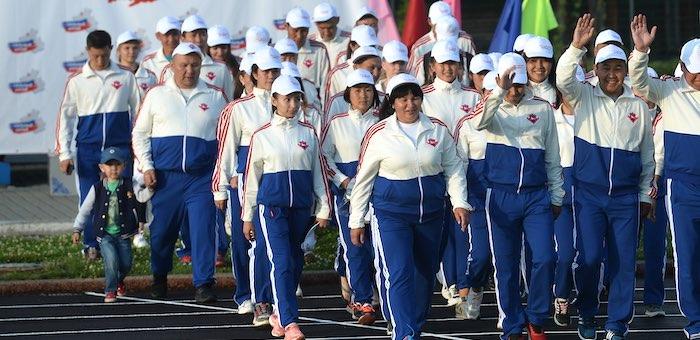 В Горно-Алтайске открылась летняя олимпиада спортсменов Республики Алтай