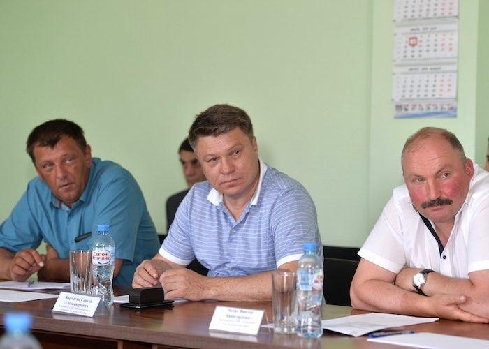 Олег Хорохордин провел совещание с руководителями предприятий реального сектора экономики