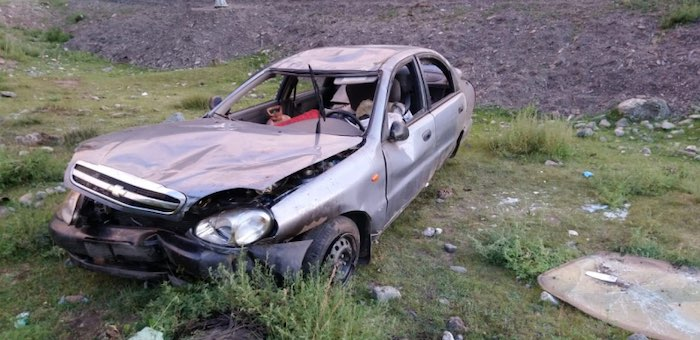 Пожилой кемеровчанин попал в аварию на Чуйском тракте