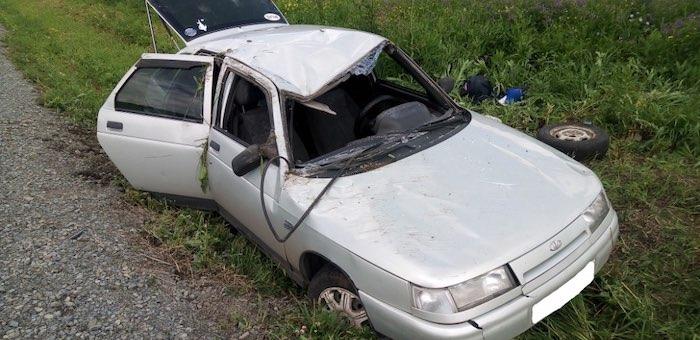 Очередная авария произошла на Чуйском тракте между селами Мыюта и Шебалино