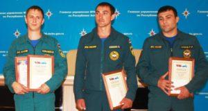 Лучших пожарных выбрали в Республике Алтай