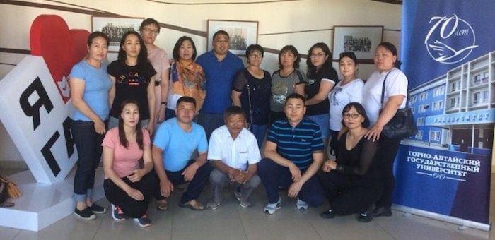 Монгольские чиновники прошли курсы повышения квалификации в ГАГУ
