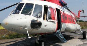 Новорожденную девочку из Горного Алтая доставили в кемеровскую клинику на вертолете