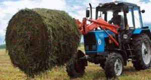 В Майминском районе идет заготовка кормов