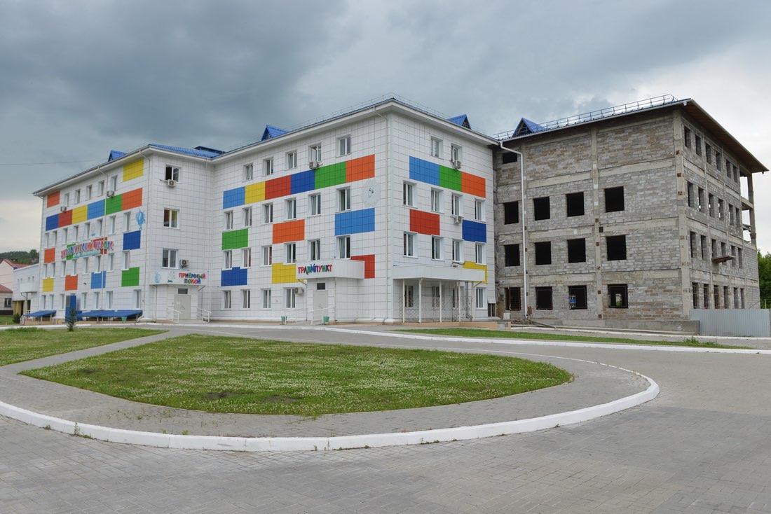 Возобновлено строительство второго корпуса республиканской детской больницы