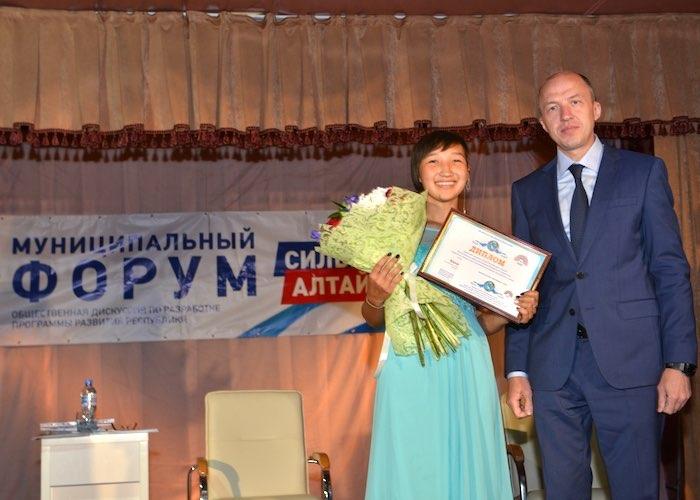 Олег Хорохордин посетил Улаганский и Кош-Агачский районы