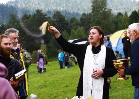 Яблочный Спас отметили в Яйлю