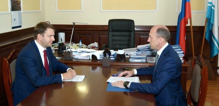 Республику Алтай посетил министр экономического развития России