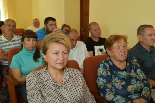 Представители городской общественности рассказали Олегу Хорохордину о своих проблемах