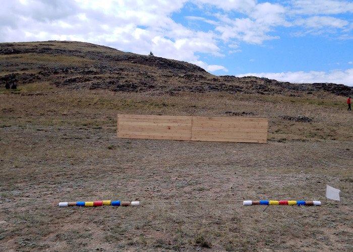 В Курае впервые прошли соревнования по стрельбе из лука по алтайским правилам