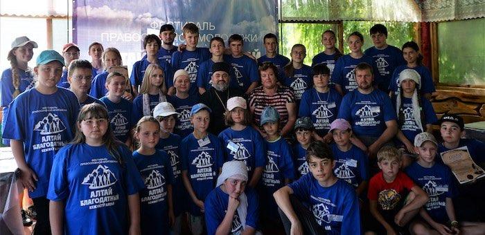 Более 40 детей приняли участие в литературном фестивале «Алтай Благодатный»