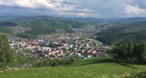 В Горно-Алтайске началось строительство панорамного парка «Гора Туугая»