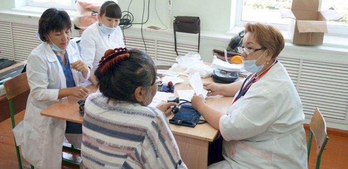 Свыше 3 тысяч жителей Онгудайского района осмотрели врачи автопоезда «Здоровье»