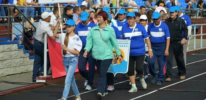 Более двухсот участников собрала Спартакиада ветеранов Республики Алтай