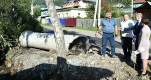 Власти держат на контроле ликвидацию подтопления домов в Партизанском логу