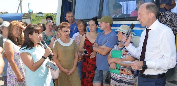 Олег Хорохордин встретился с жителями нескольких микрорайонов Горно-Алтайска