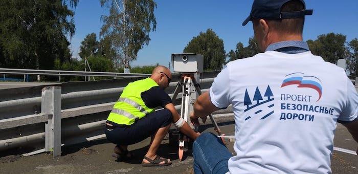 Проект «Безопасные дороги» проверяет камеры видеофиксации нарушений ПДД в регионе