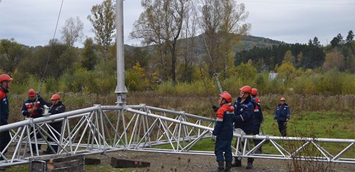 Учения: электроснабжение трех населенных пунктов восстановлено оперативно