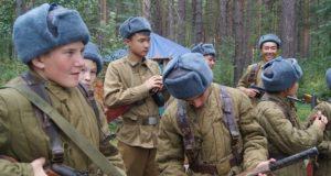 Военно-историческая реконструкция времен Великой Отечественной впервые прошла на Алтае
