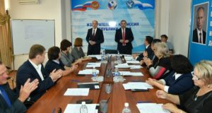 Олег Хорохордин получил удостоверение главы Республики Алтай