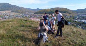 Шебалинские подростки учатся управлять квадрокоптером
