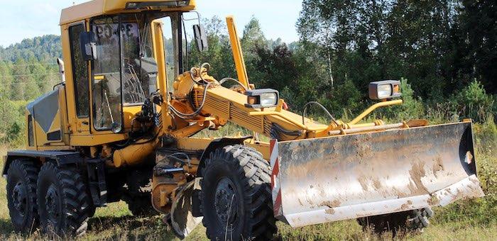 Начался ремонт дороги до Дмитриевки