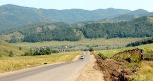 Ремонт дороги из Шебалино в Дъектиек завершат раньше, чем обещали