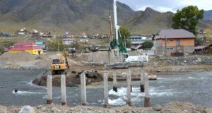 В Онгудае началось строительство нового моста