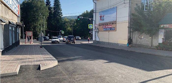 В Горно-Алтайске продолжается ремонт дорог