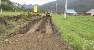 В Майминском районе продолжается масштабный ремонт дорог и улиц
