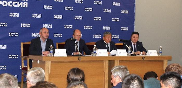 «Единая Россия» в Республике Алтай подвела итоги выборной кампании
