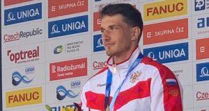 Кирилл Сеткин завоевал серебряную медаль в финале Кубка мира по гребному слалому