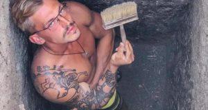 Уральский ученый «набил» себе татуировку вождя из Пазырыкского кургана
