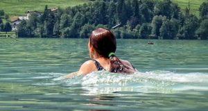 Соревнования по плаванию прошли в Еланде