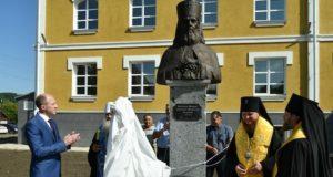 Бюст святого Макария Невского открыли в Горно-Алтайске