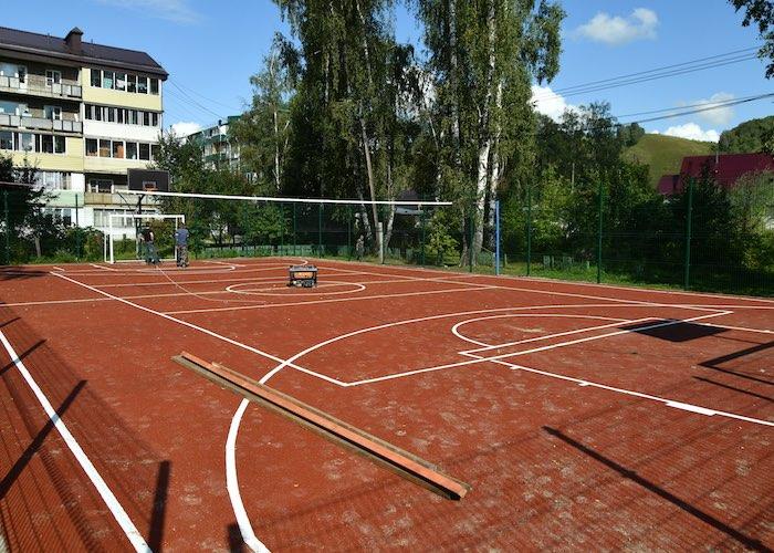 К юбилею Майминского района – 36 детских и спортивных площадок