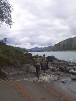 Более 30 км береговой линии очистили в Майминском районе в ходе акции «Вода России»