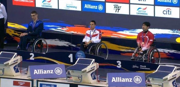 Спортсмен из ГАГУ стал победителем чемпионата мира по плаванию