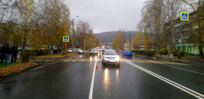 15-летнюю девочку сбили на пешеходном переходе в Горно-Алтайске