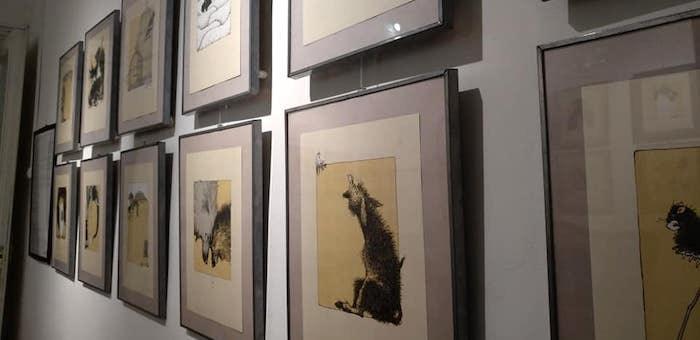 Выставка Алексея Дмитриева «Иван Крылов – человек-загадка» открылась в Москве