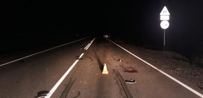 Водитель Toyota Prius погиб, столкнувшись ночью на Семинском перевале с лошадью