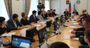 Представители президиума генсовета «Единой России» оценили ход реализации нацпроектов в Республике Алтай
